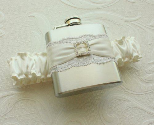 North East Hip Flask Garter