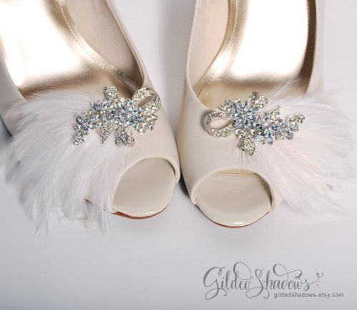 etsy wedding shoe clips